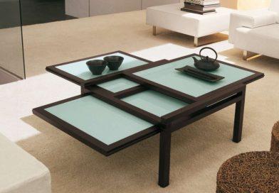 Оригинальные столики в интерьере