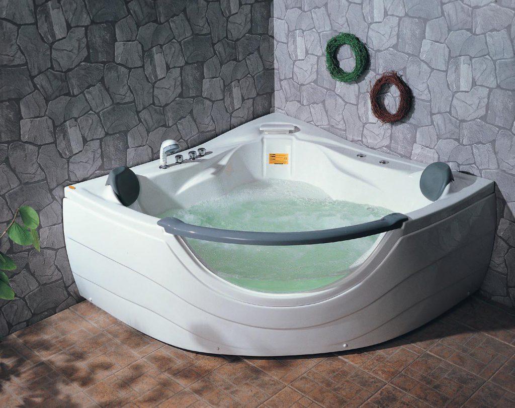 Преимущества угловой ванны: особенности выбора и варианты размещения (+38 фото)