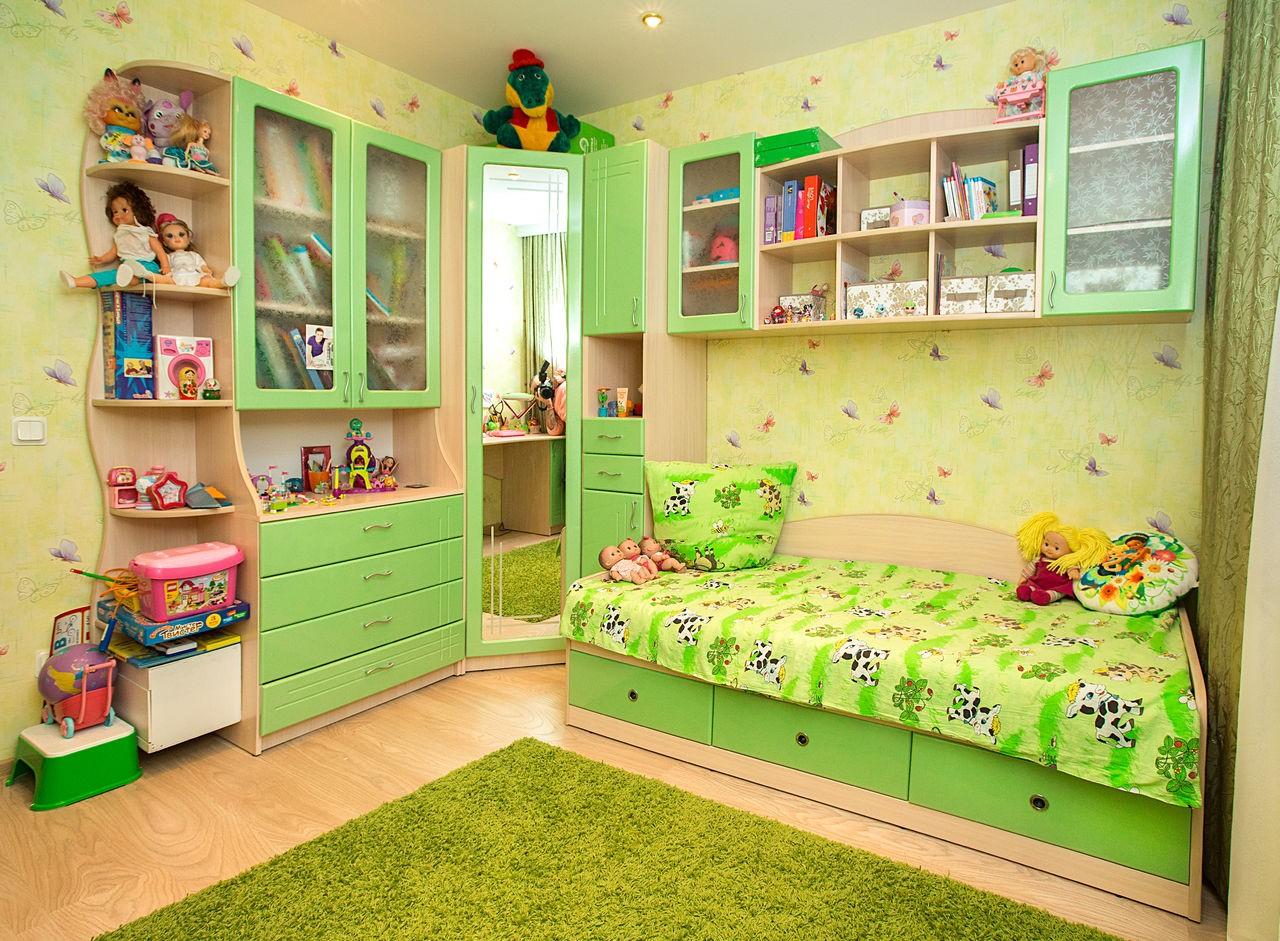 Цвета мебели для детской
