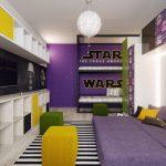 Оригинальная комната в стиле «Звездных войн»
