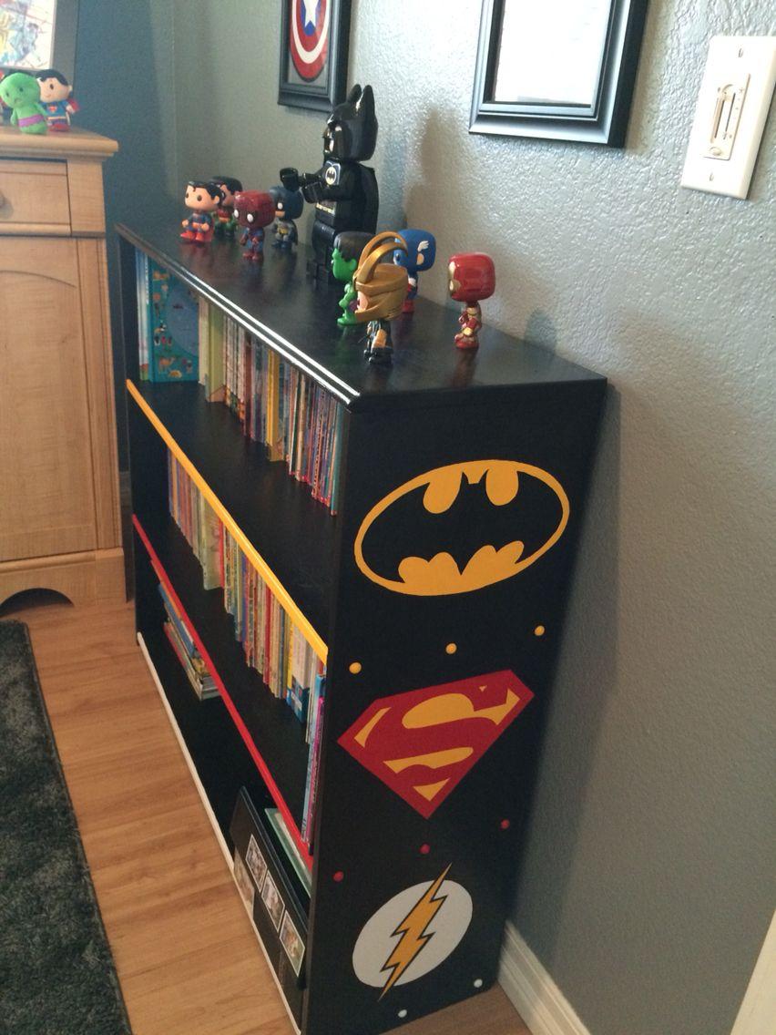Бэтмен в детской комнате: оформление детской в стиле бет-пещеры