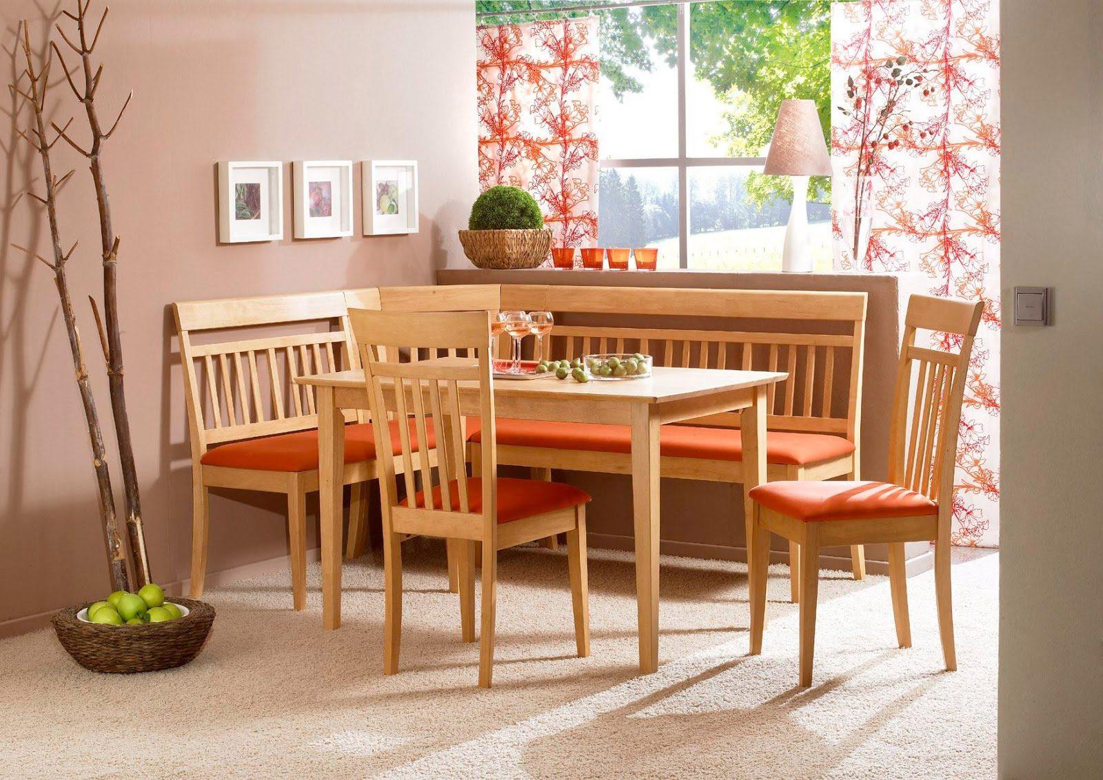 Красивый кухонный уголок как основной элемент интерьера
