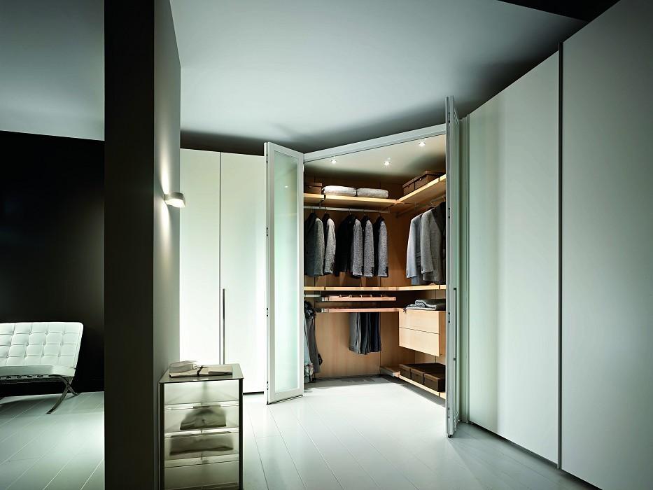 Угловая гардеробная