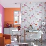Комбинация обоев в зале: выбор цветовых решений (+48 фото)