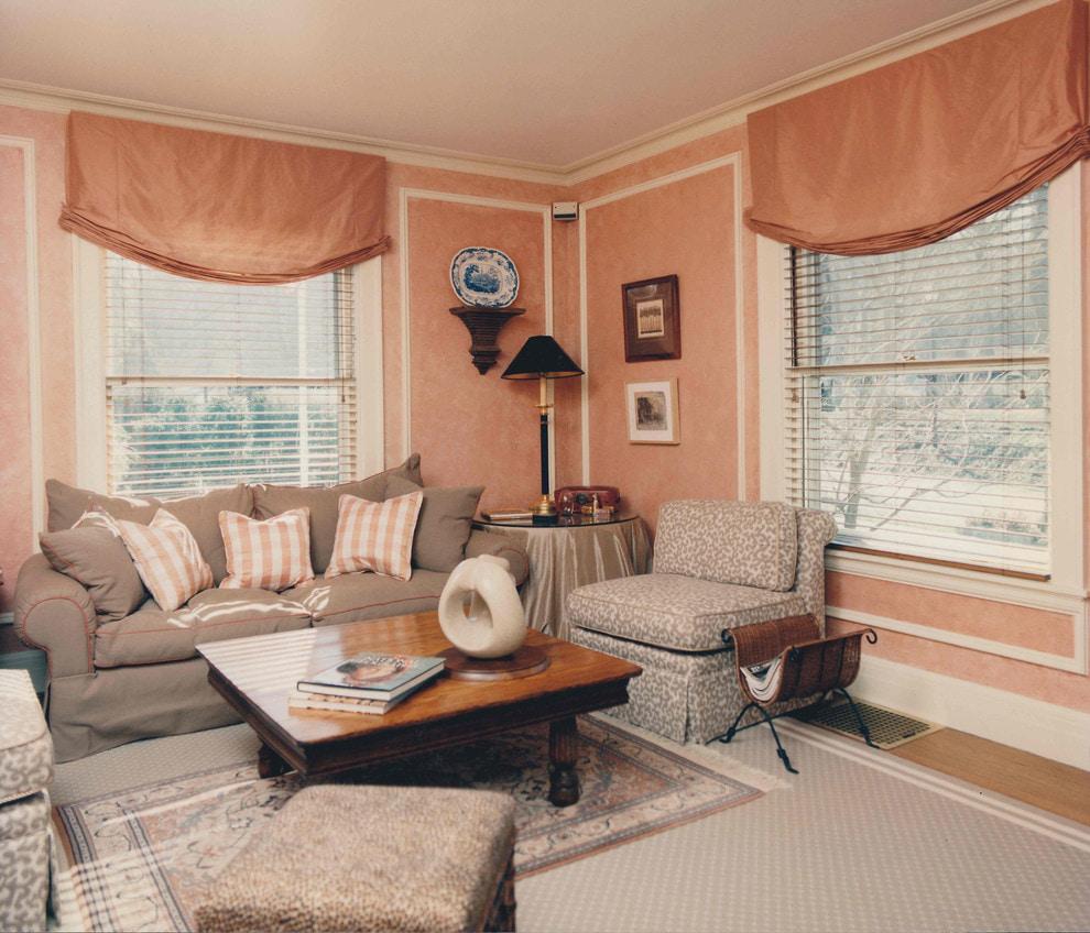 Персиковая цветовая гамма: пастельная радость в интерьере