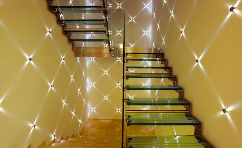 Необычные точечные светильники