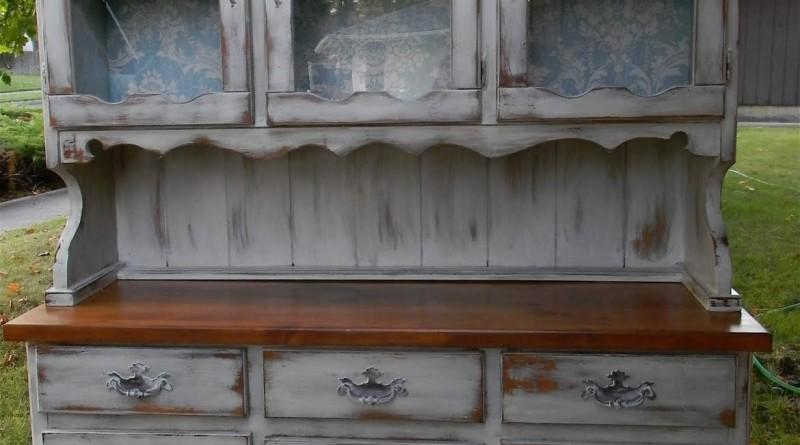 реставрация старого буфета своими руками