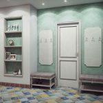 Оформление прихожей в стиле Прованс: фото интерьеров и общие советы