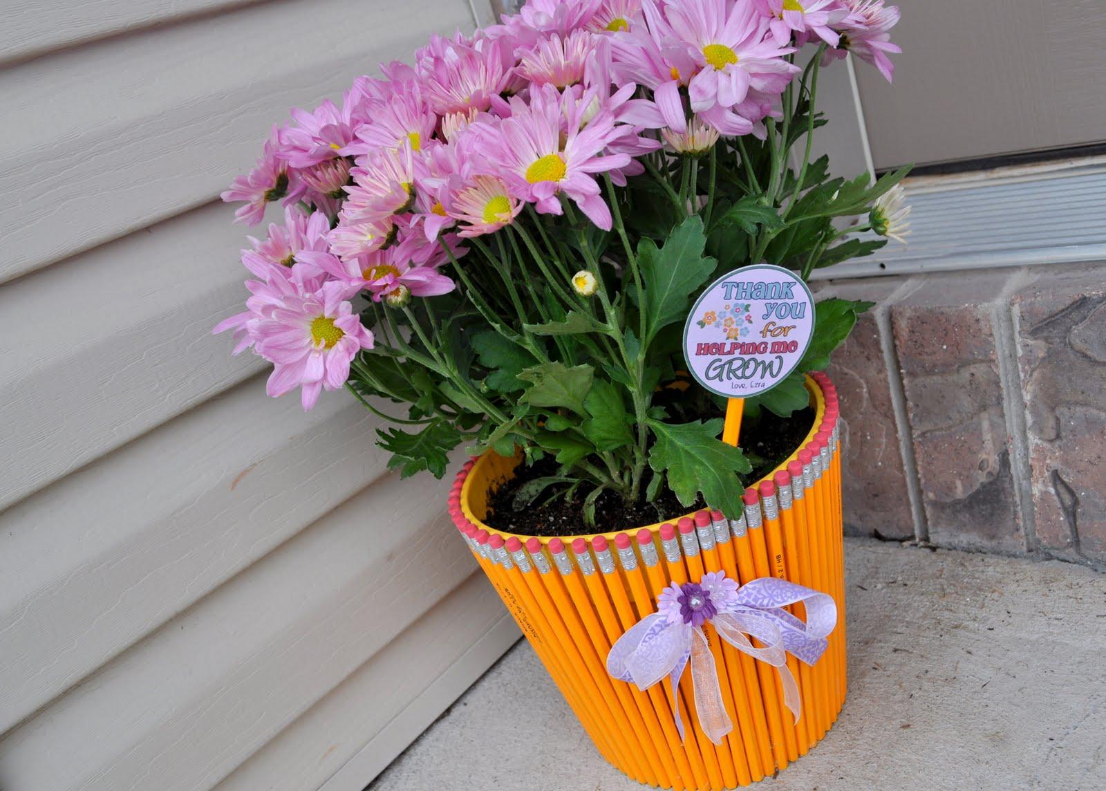 Сшить чехлы для цветочных горшков