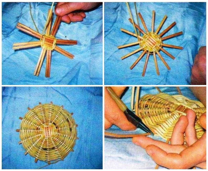 Как сделать корзину из лозы своими руками: самый простой способ (МК)