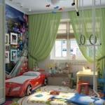 Комната мальчика: оформление обоями