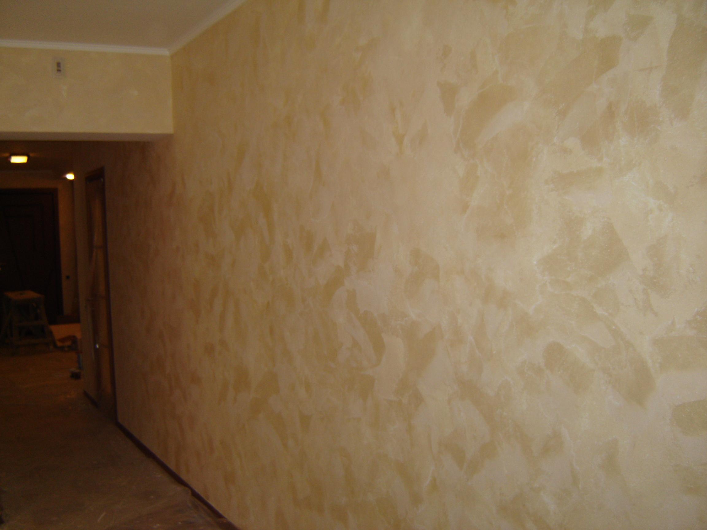 Как тряпка поможет сделать уникальный дизайн стен