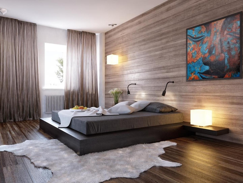 Нотки спокойствия в оформлении спальни