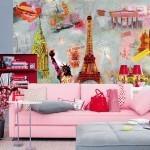 Советы по оформлению маленькой комнаты фотообоями - как «раздвинуть» стены
