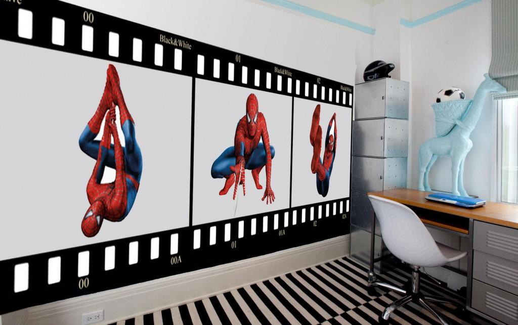 фотообои в маленькой комнате
