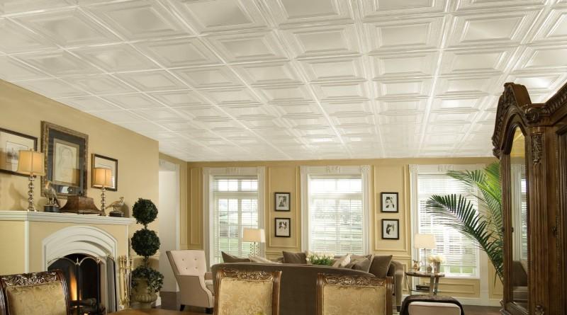 из чего можно сделать потолок в комнате