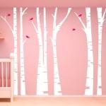 трафареты для стен в детскую комнату