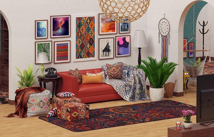 Как в Симпсонах: стилизация дизайна дома как в мультсериале «Симпсоны»