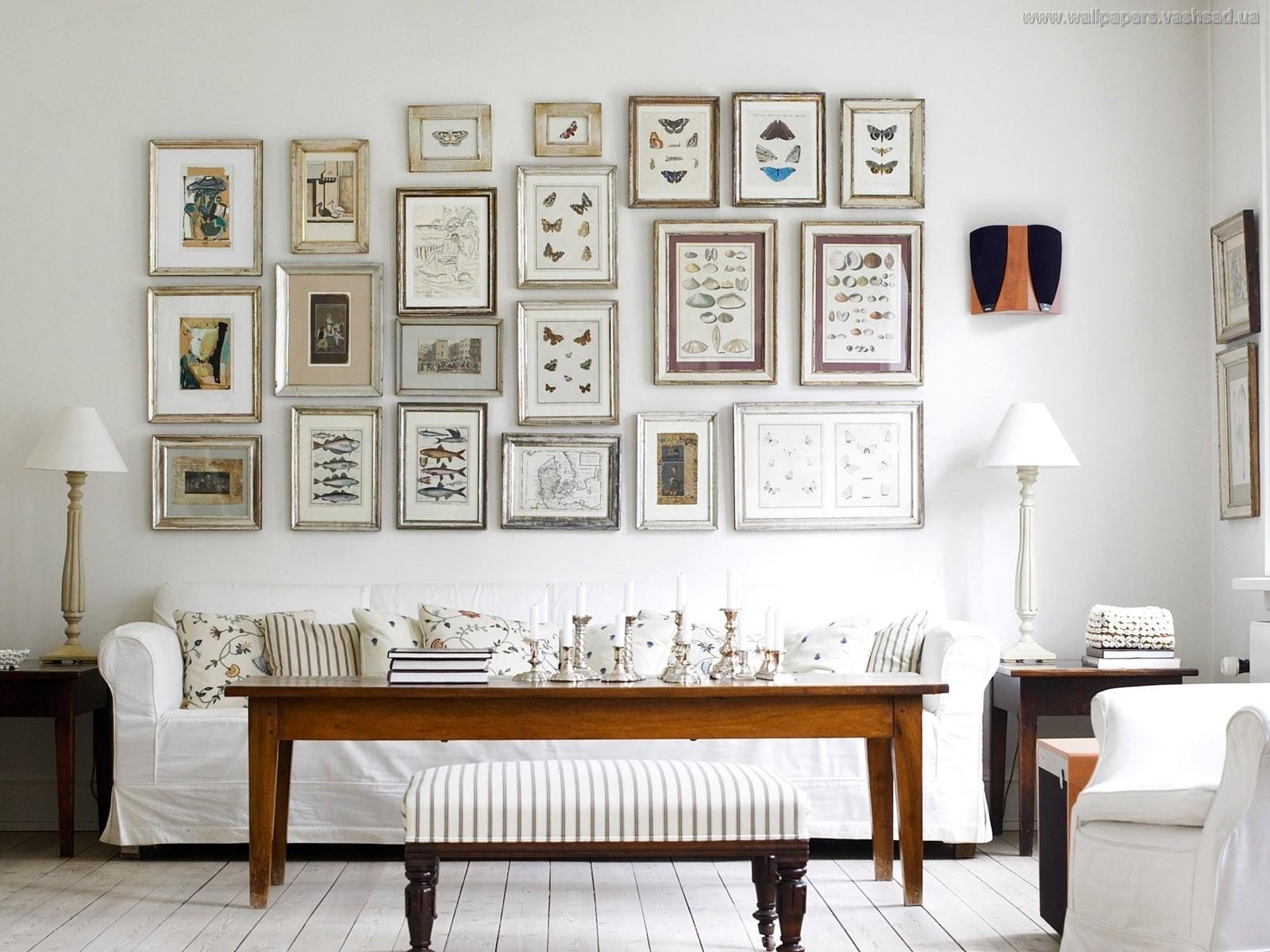 5 ошибок размещения картин на стенах