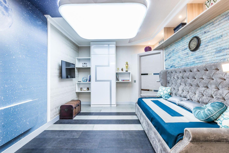 Мама, это космос!: детская комната в космическом стиле