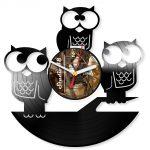 Часы из старых виниловых пластинок своими руками: 3 оригинальных мастер-класса