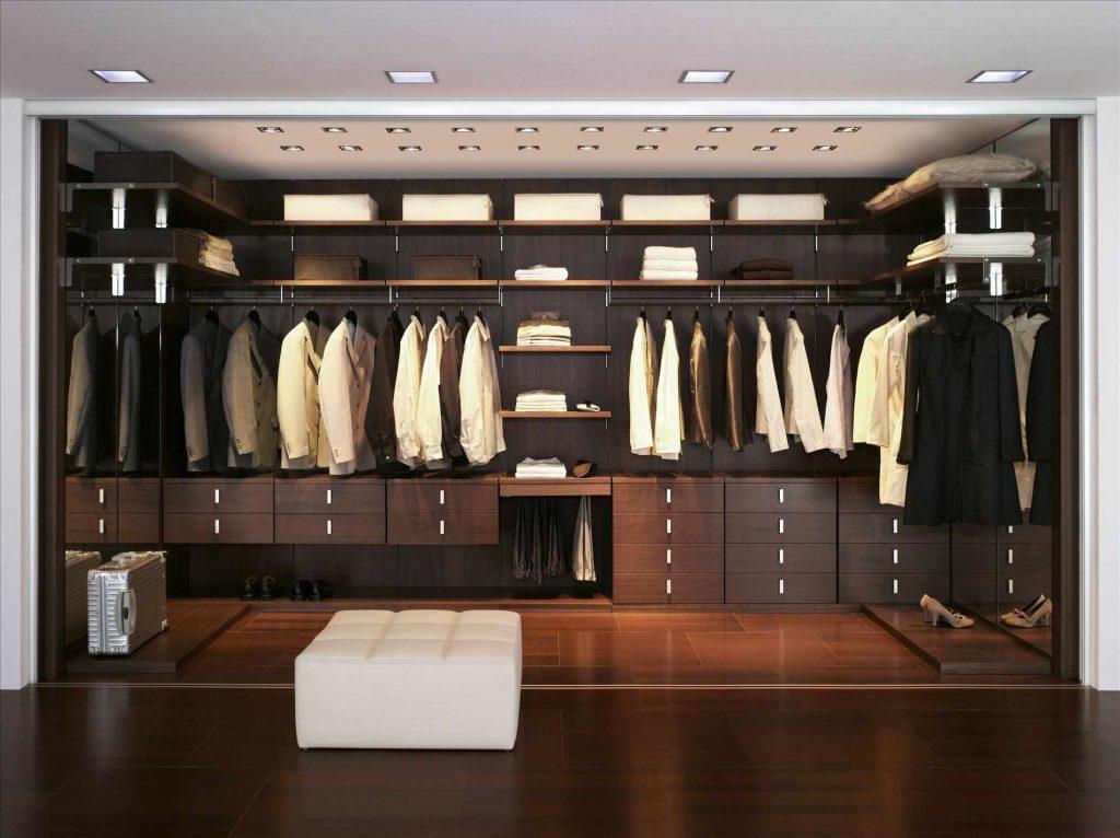 Сборная гардеробная система