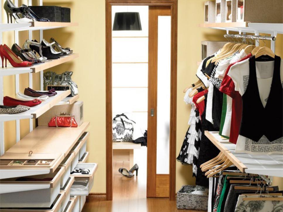 Отдельная гардеробная комната