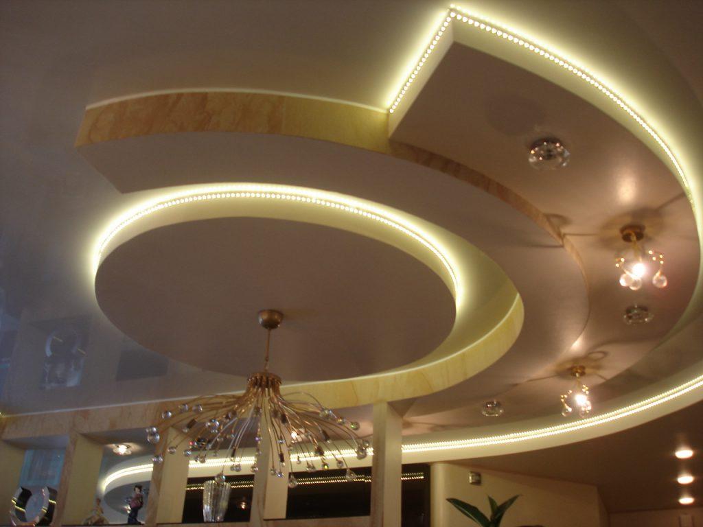 Освещение подвесного потолка