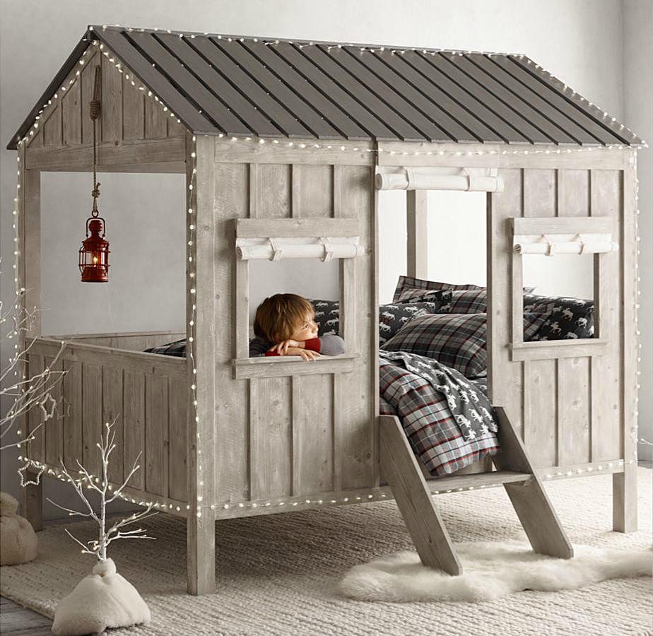 Домик на дереве для ребенка в комнате: возможно ли? И как?