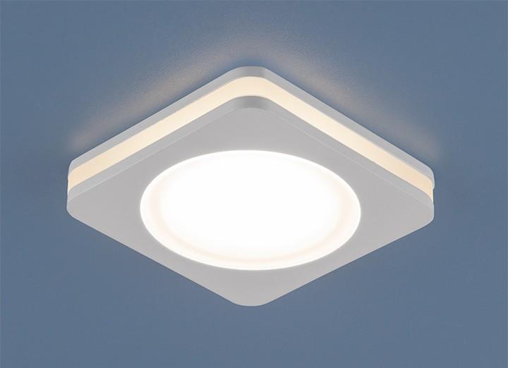 светодиодный светильник в натяжной потолок