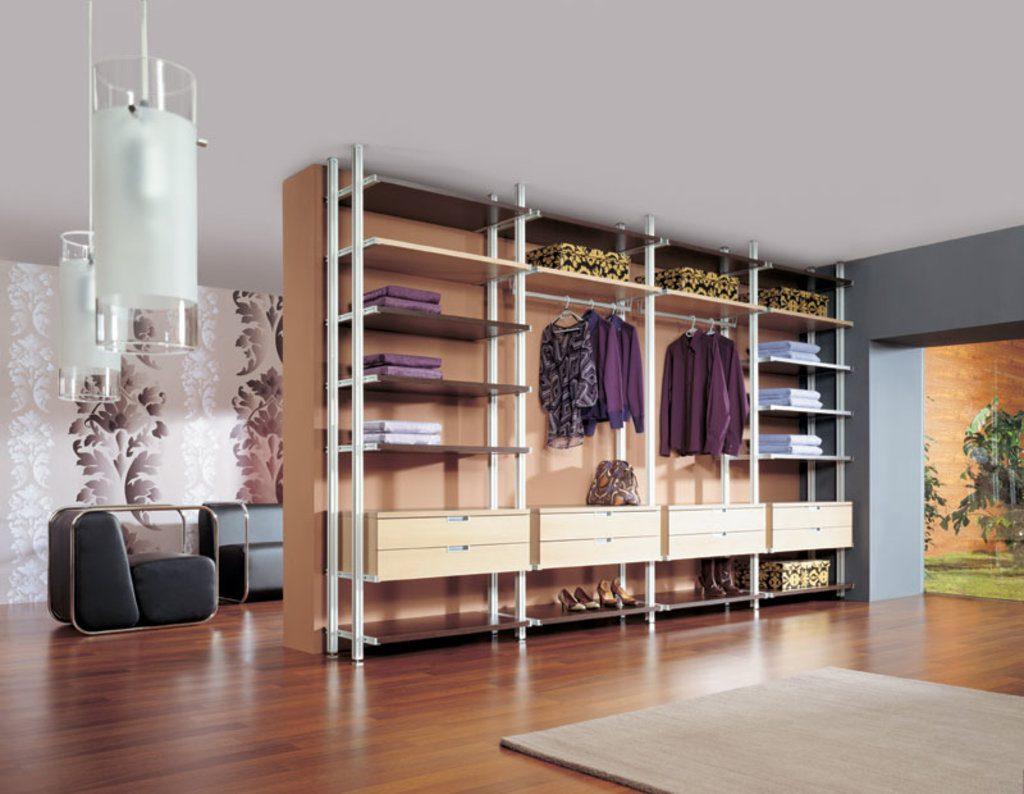 металлическая гардеробная система