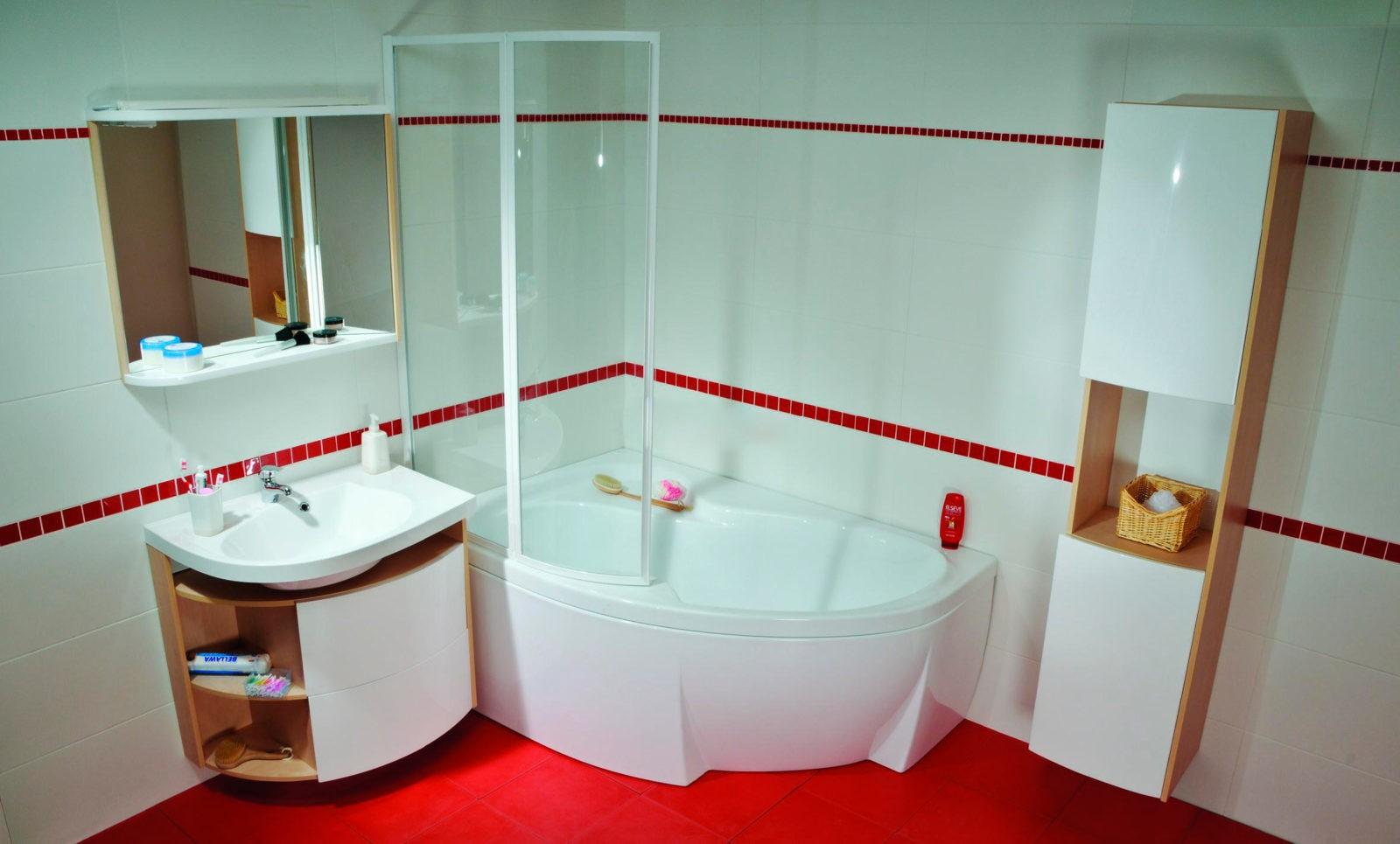 Раздвижная и тканевая штора для ванной комнаты: делаем сами