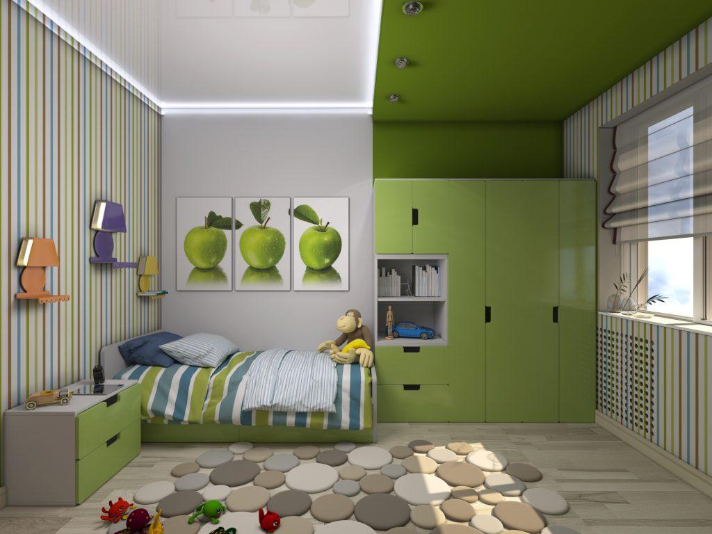 Какой цвет выбрать для детской комнаты