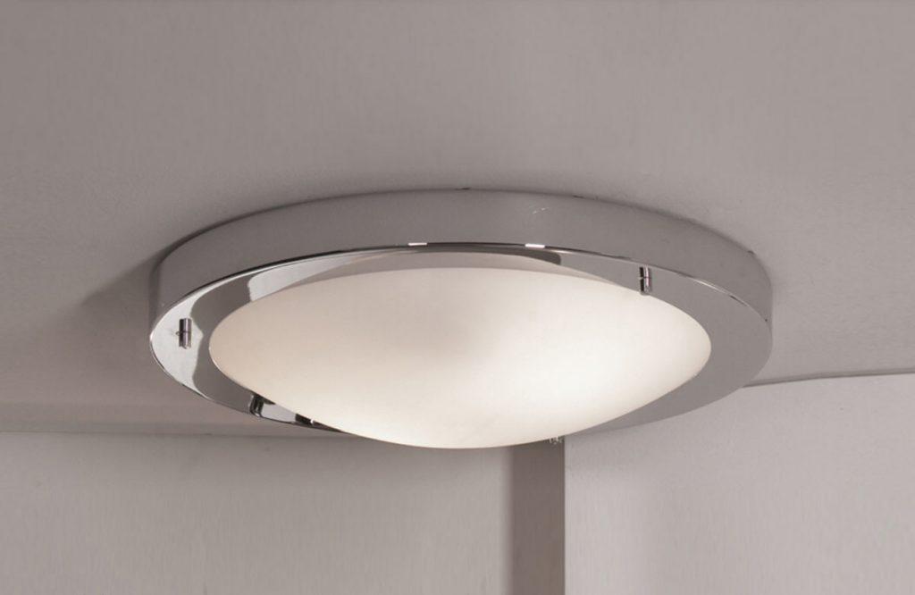 Накладной светильник в натяжной потолок