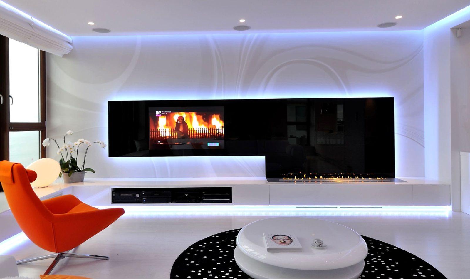 Варианты освещения в гостиной и советы по организации (+110 красивых фото)