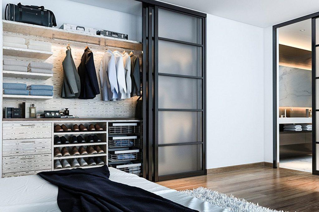 Встраиваемая гардеробная система