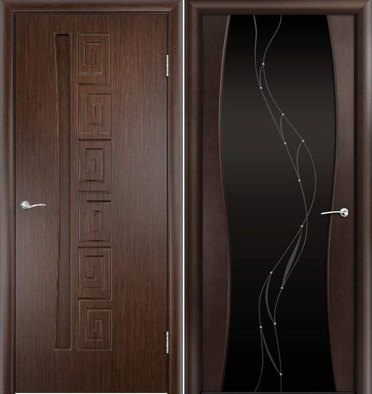 Двери венге Омега
