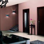Как гармонично вписать темные двери в интерьер: основные правила и советы (+78 фото)