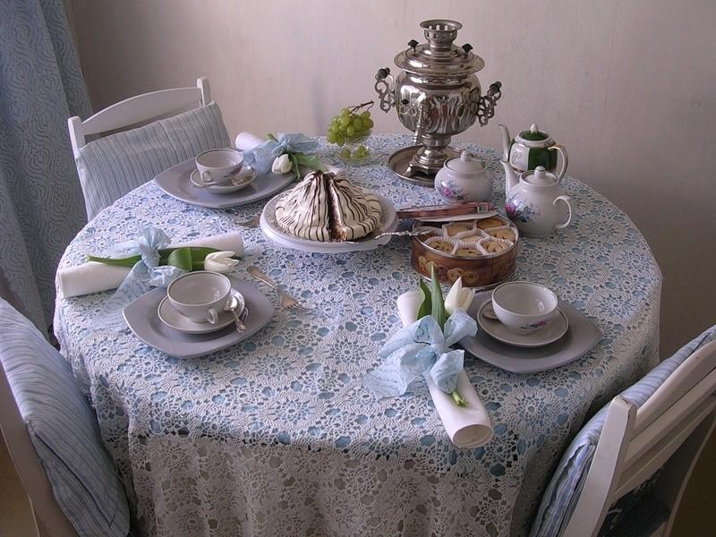 Оформление чайного стола