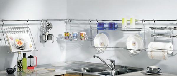 Как необычно спрятать газовую трубу на кухне?