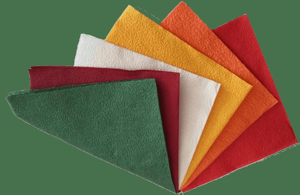 Какого цвета выбрать бумажные салфетки