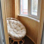 Создаем стильный дизайн балкона из вагонки: отделка стен и варианты оформления