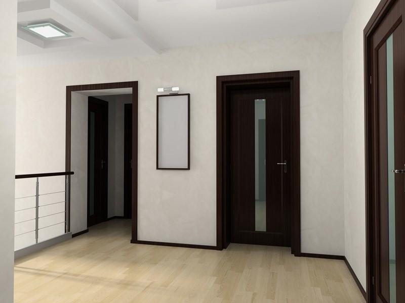 Двери венге и светлый пол