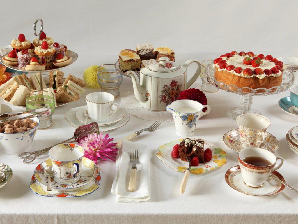 Сервировка и оформление чайного стола
