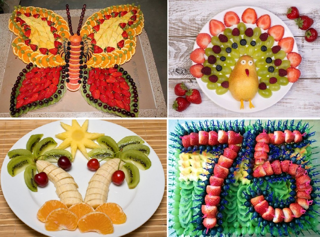 Сервировка фруктовой нарезки