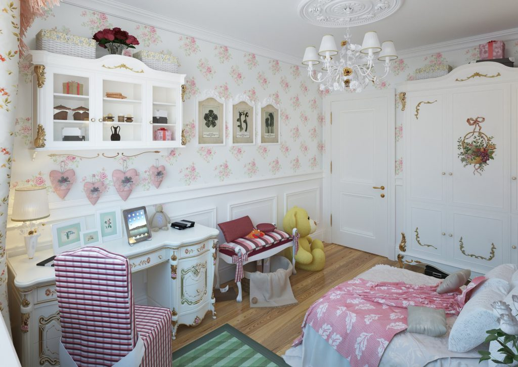 Техника декупажа стен: этапы выполнения и применение в разных комнатах