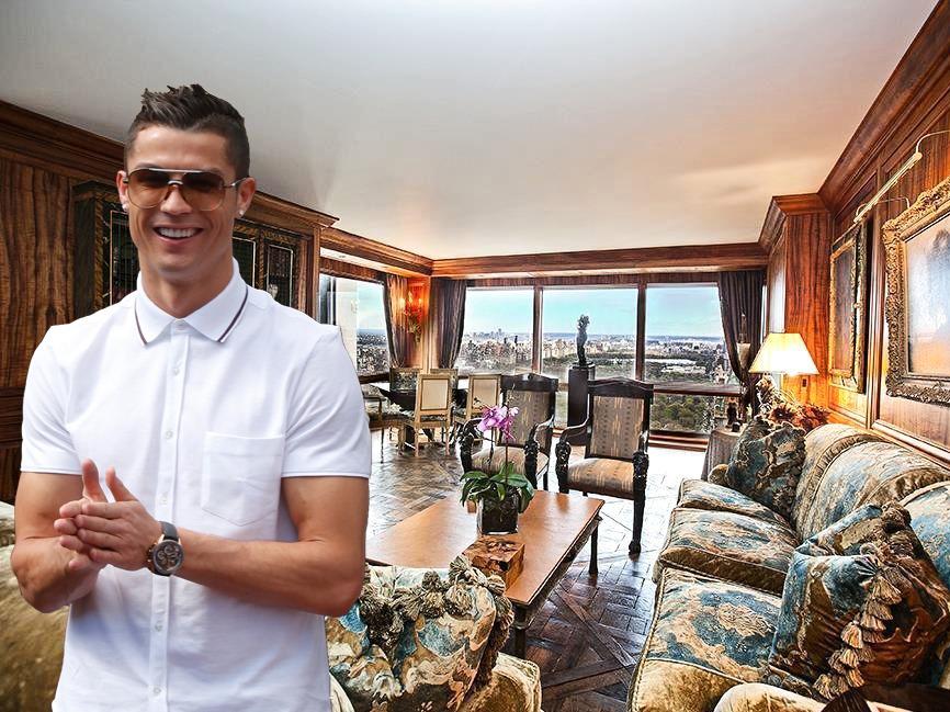 Интерьеры футболистов: апартаменты Криштиану Роналду за 18 миллионов долларов