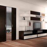 Двери цвета венге в интерьере современных квартир: особенности и советы по выбору |+48 фото