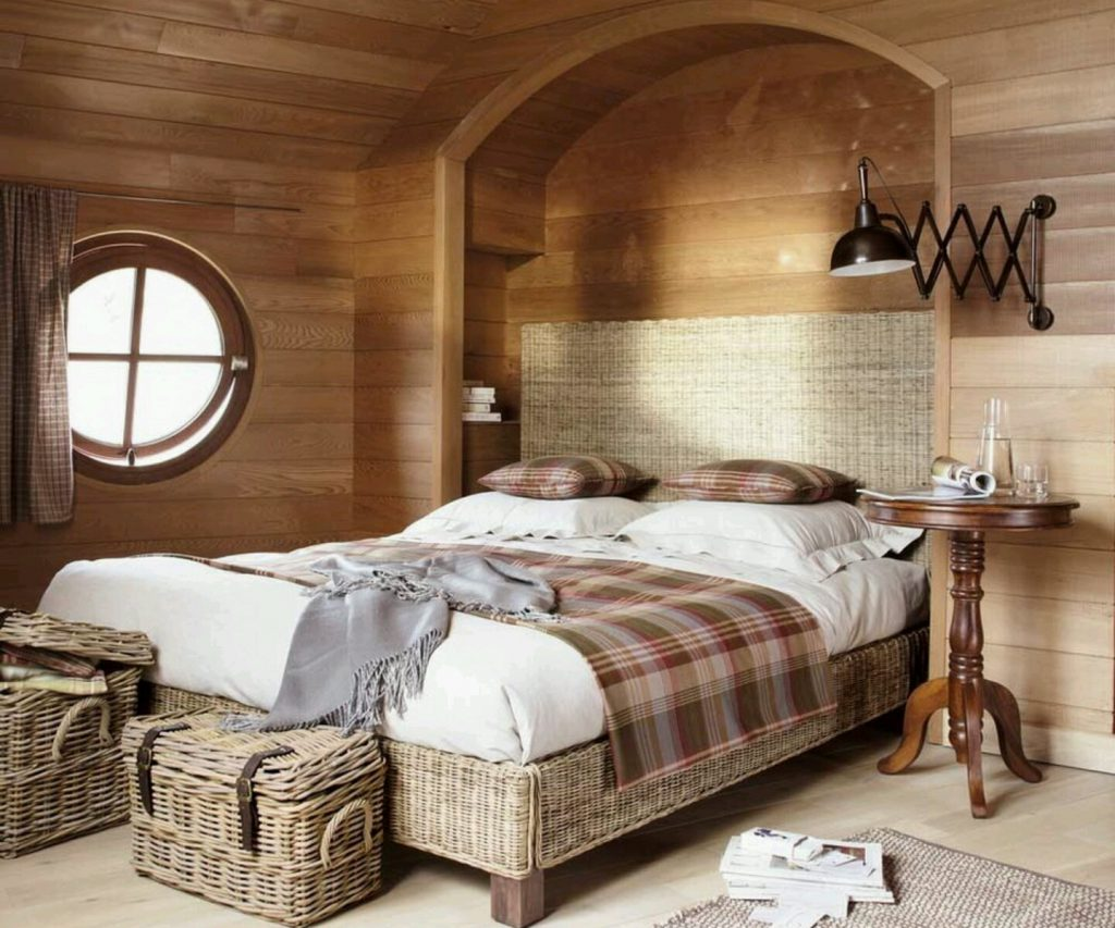 Создаем простой интерьер спальни: выбор стиля и цветовой гаммы (+40 фото)