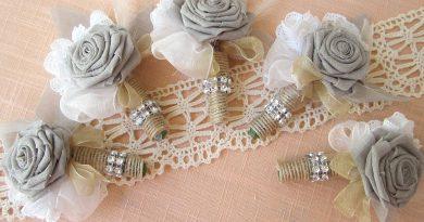 Цветок из мешковины своими руками — стильное решение для украшения интерьера